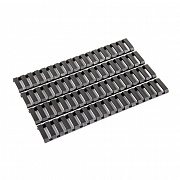 G&G Ladder Rail Panel Set Black