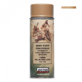 Fosco Army Paint Spray WH Dunkel Gelb 400ml