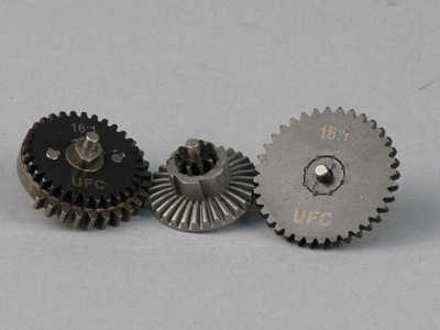 UFC 16:1 High Speed Steel CNC Gear Set