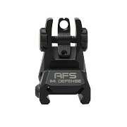 IMI AFS Rear Aluminum Flip-Up Sight