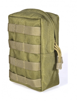 Flyye Vertical Accessories Pouch Khaki