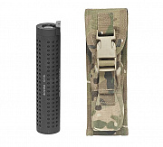 WAS Large Torch/Suppressor Pouch Multicam