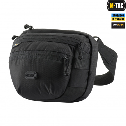 M-Tac сумка Sphaera Hex Hardsling Bag Elite Black