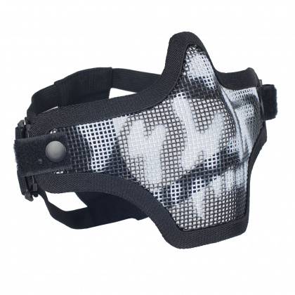 Emerson Strike Steel Half Face Mask Skull