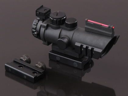 China made ACOG-style Red/Green Dot Scope (with sight) Black