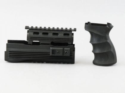 Cyma Railed Hand Guard & Tactical Grip for AK47