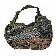 Emerson V2 Strike Steel Half Face Mask Digital Woodland