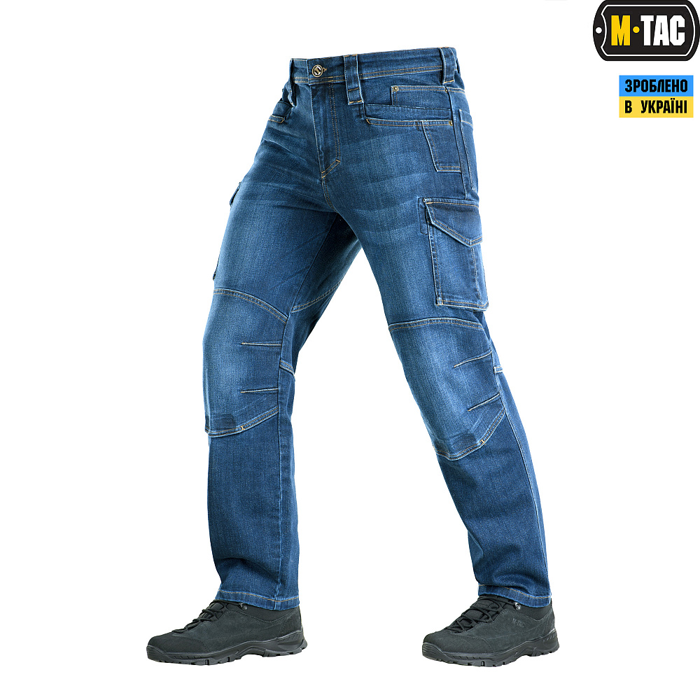 M-Tac джинси Cargo Dark Denim Regular Fit