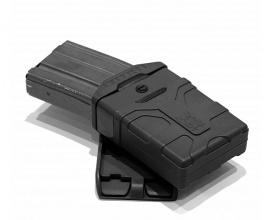 WAS Polymer M4 Style 5.56mm Mag Pouch Black