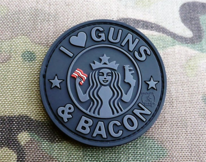 JTG Guns and Bacon Patch BlackOps
