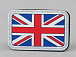 James Weekend Warrior UK Flag PVC Velcro Patch Colored
