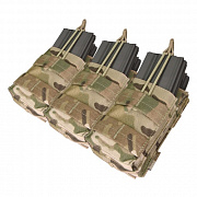 Condor Triple Stacker Open-Top M4 Mag Pouch Multicam