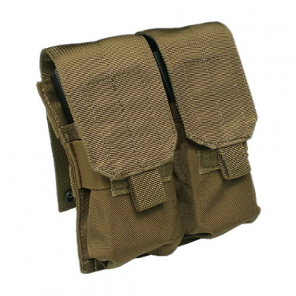 Flyye MOLLE Double M4/M16 Mag Pouch CB