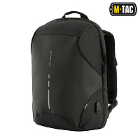 M-Tac рюкзак Urban Line Anti Theft Shell Pack Dark Grey/Black