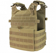 Condor Gunner Lightweight Plate Carrier Tan