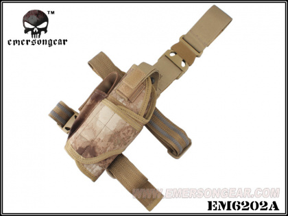 Emerson Tornado Universal Tactical Thigh Holster Right A-TACS AU