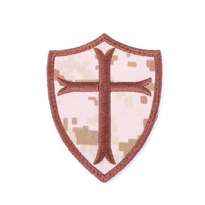 KA SEALS 6 Crusader Cross Embroidery Patch
