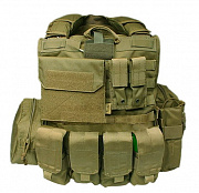 Flyye Force Recon Vest with Pouches Maritime Ver. Khaki