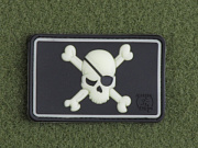 JTG Pirate Skull Patch GID
