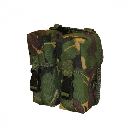 Highlander MOLLE DOUBLE AMMO POUCH DPM