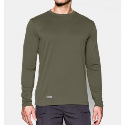 Under Armour футболка длинный рукав Tactical Tech Marine Od Green