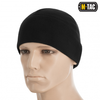 M-Tac шапка Watch Cap Elite флис Windblock 380 Black