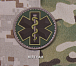 MSM EMT Star PVC Patch Multicam