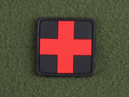 JTG Red Cross Medic Patch BlackMedic
