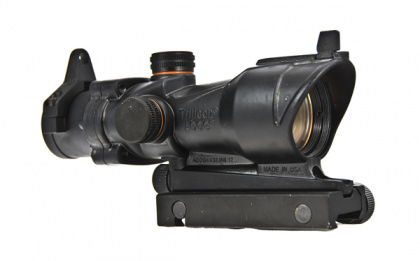 China made ACOG-style Red Dot Scope (with markings) BK