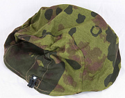 Militaria HELMET COVERS Mid to Late War Overprint/Plane Tree Number 1