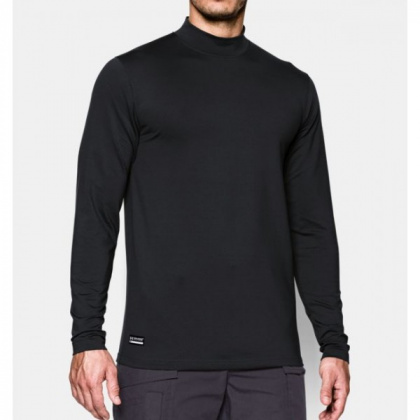 Under Armour кофта Cold Gear Infrared Tactical Fitted Mock Black