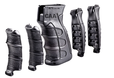 CAA 6-Pieces Interchangeable Pistol Grip for AK/Vz.58 Black