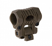 Element 5-position Flashlight Mount TAN