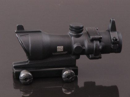 China made ACOG 4x32 Scope (with iron sight) Black