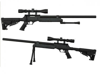 China made MB13D Spring Rifle BK (with scope & bipod)