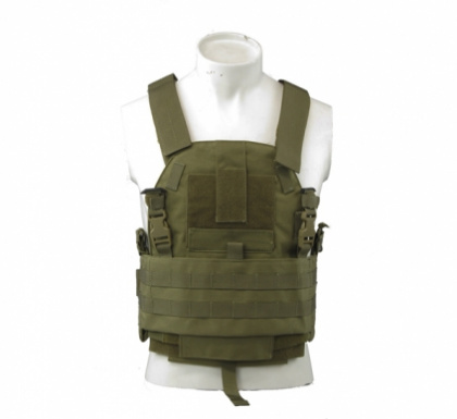 TMC SLICK Medium Plate Carrier Khaki