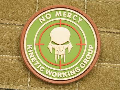 JTG No Mercy - Kinetic Working Group Patch Multicam