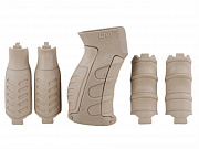 CAA 6-Pieces Interchangeable Pistol Grip for AK/Vz.58 Khaki