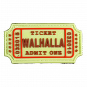 JTG Walhalla Ticket Patch Multicam