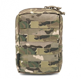 WAS Large Utility MOLLE Pouch Multicam