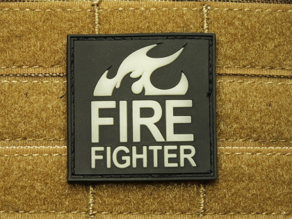 JTG Fire Fighter Patch Ghost GID