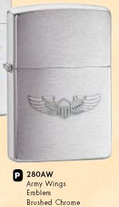 ZIPPO зажигалка regular wing