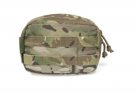 WAS Large Horizontal Utility Pouch Multicam