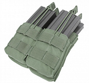 Condor Double Stacker Open-Top M4 Mag Pouch OD