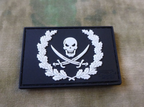 JTG NoFear Pirate Patch fullcolor