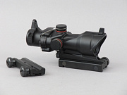 China made ACOG-style Red/Green Dot Scope BK