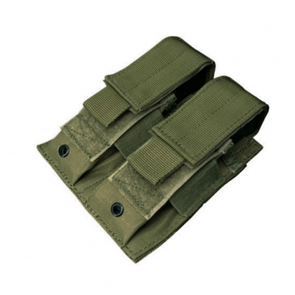 Condor Double Pistol Mag Pouch OD