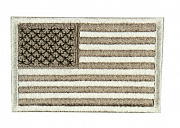 Condor USA Flag Velcro Patch Coyote Tan