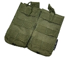 CA Double M4/M16 Magazine Pouch OD Green