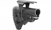 FAB Defense M4/AR15 Buttstock with Adjustable Cheek Rest Black